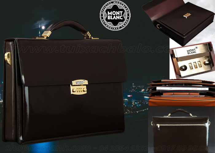 Cặp Da Montblanc For Business NA1043