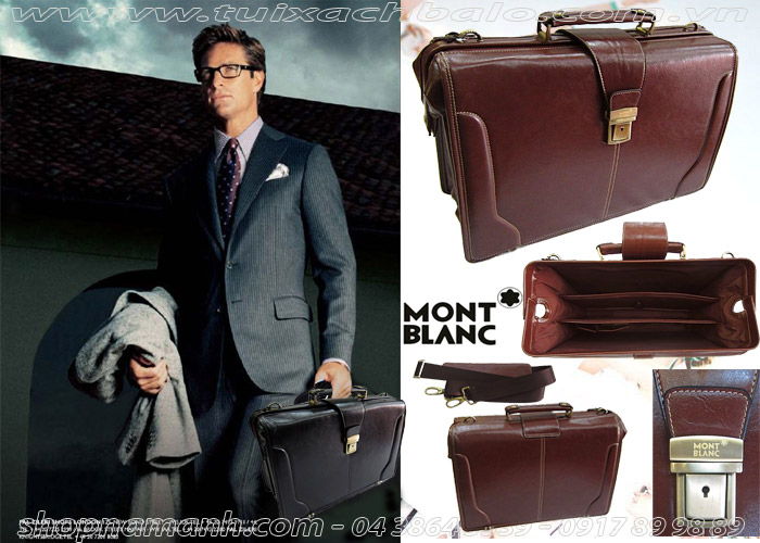 Cặp Da Montblanc For Business NA929